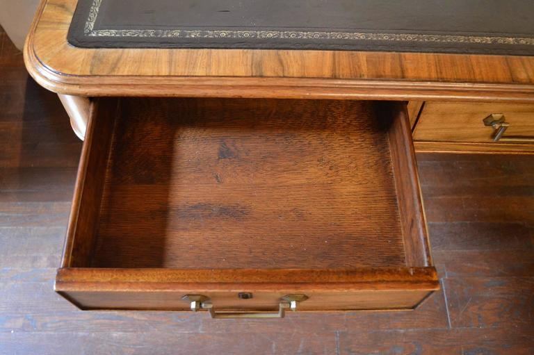 The Downing Street Executive Curio Desk: 19th Century English Partners Desk At 1stdibs