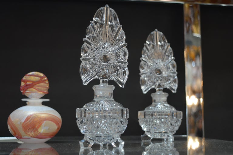 20th Century Collection of Glass Perfume Bottles For Sale