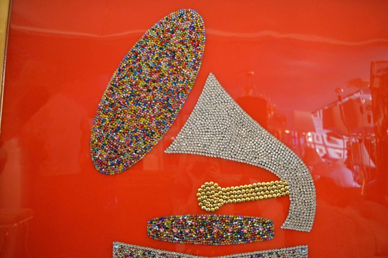 American Swarovski Crystal Grammy by Mauro Oliveira For Sale