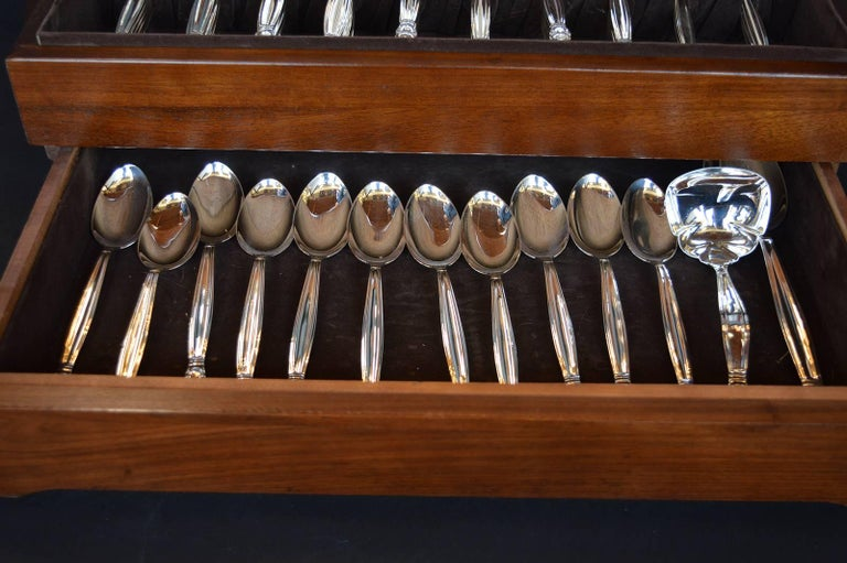 20th Century Danish Sterling Silver Set For Sale