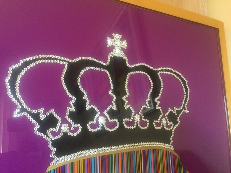 American Prince with Rhinestone Crown by Mauro Oliveira For Sale
