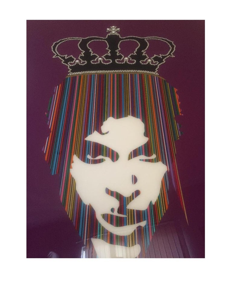 One of a kind prince with Rhinestone crown by Mauro Oliveira.