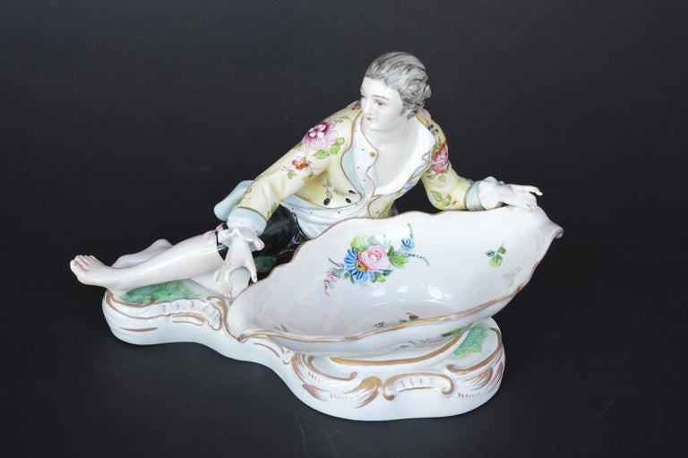 Collection of Three Meissen Figures For Sale 1