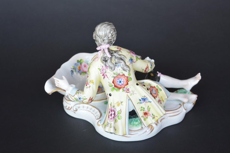Collection of Three Meissen Figures For Sale 2