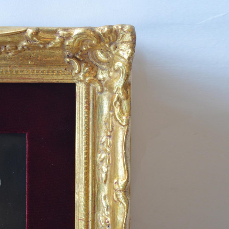 Set of Three Porcelain Plaques Germany KPM circa 1900s For Sale 6