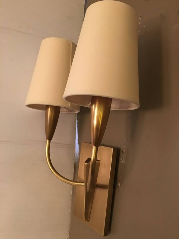 Wall Sconces With Shades : Pair of Wall Sconces with Shades For Sale at 1stdibs