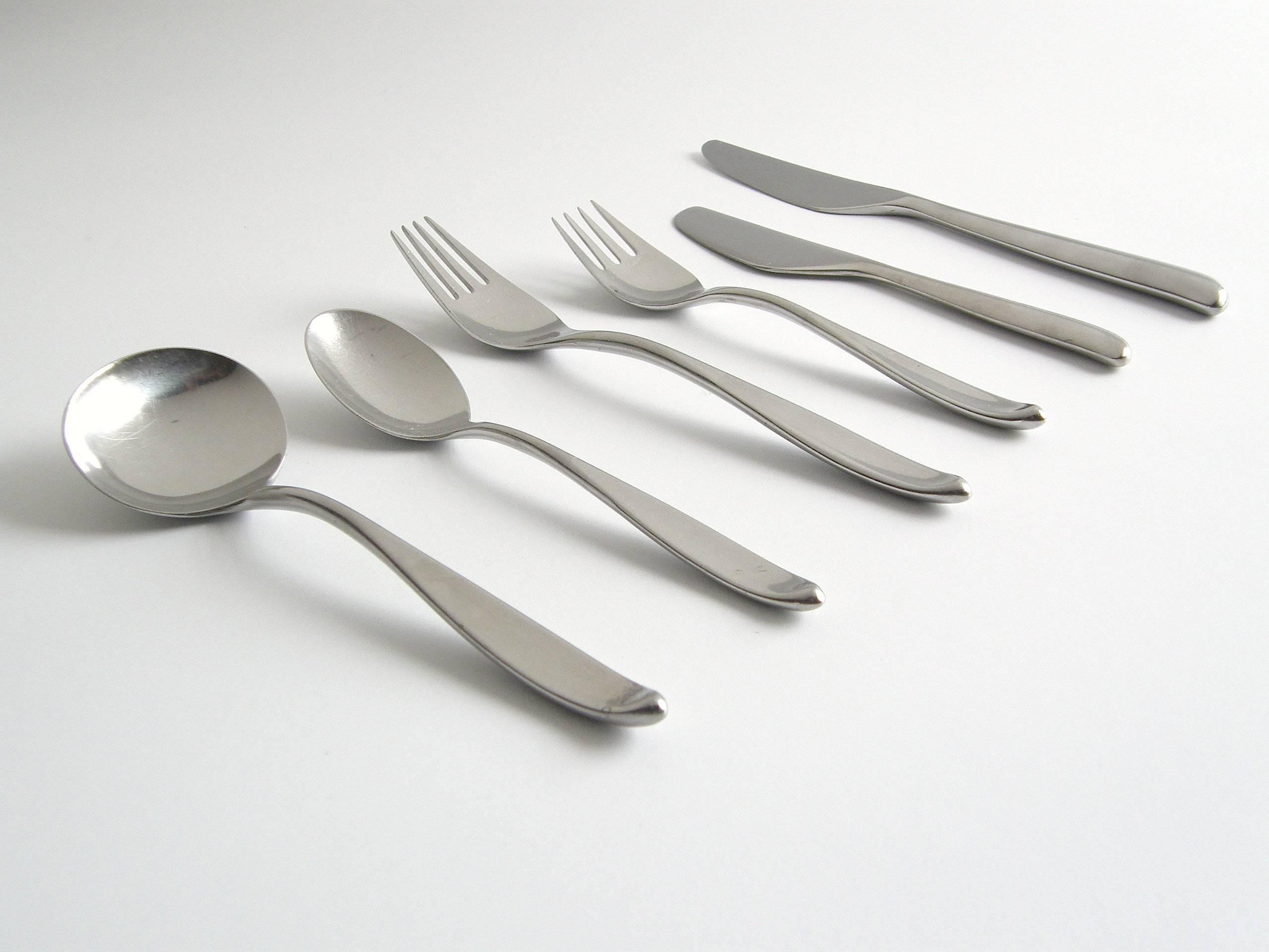 Don Wallance Design Two Flatware For Lauffer At 1stdibs