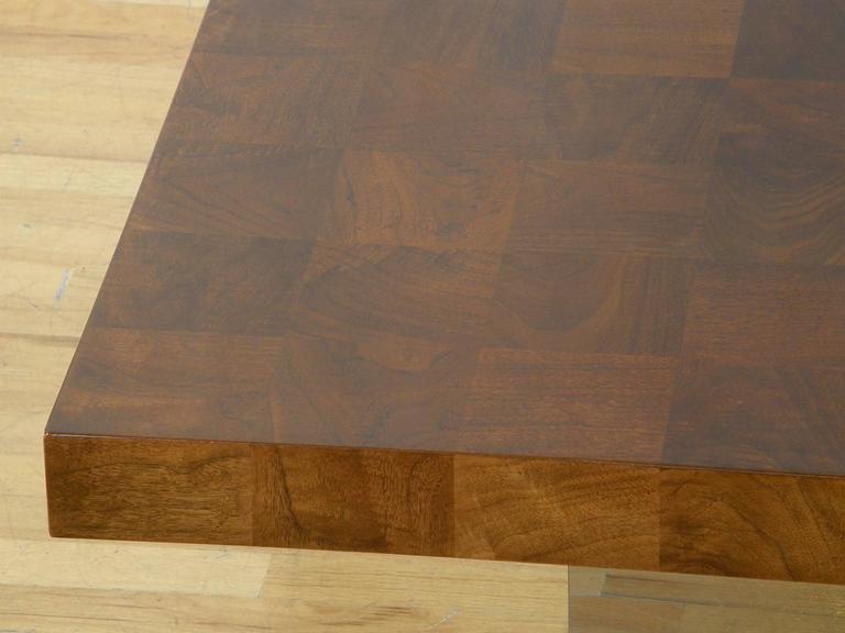 Milo Baughman Square Coffee Table 6