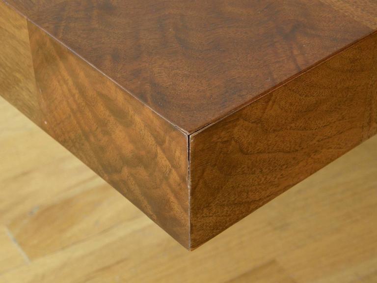 Milo Baughman Square Coffee Table 7