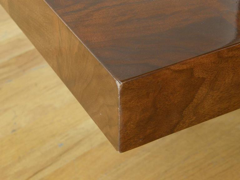 Milo Baughman Square Coffee Table For Sale 2
