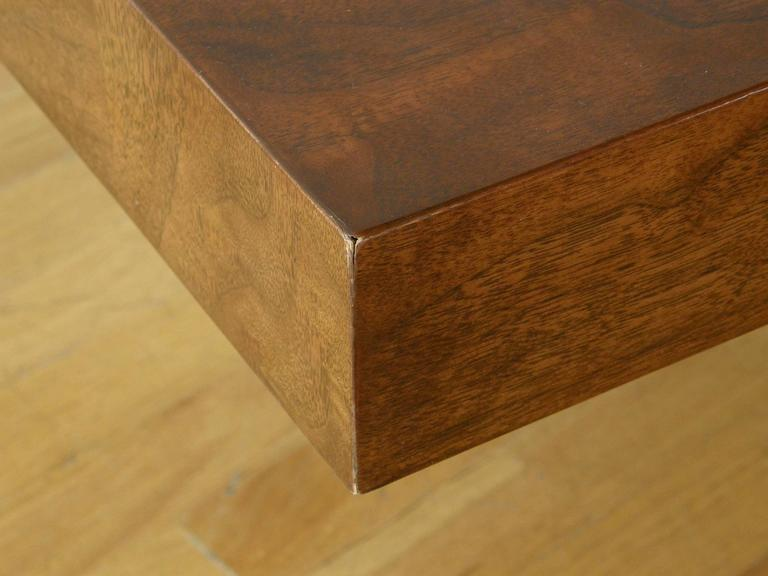 Milo Baughman Square Coffee Table For Sale 3