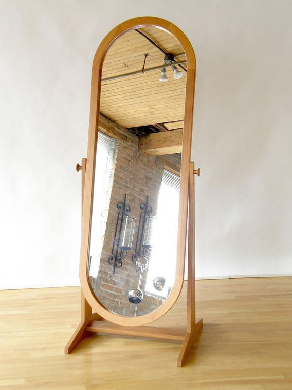 Pedersen & Hansen Teak Cheval Mirror 2