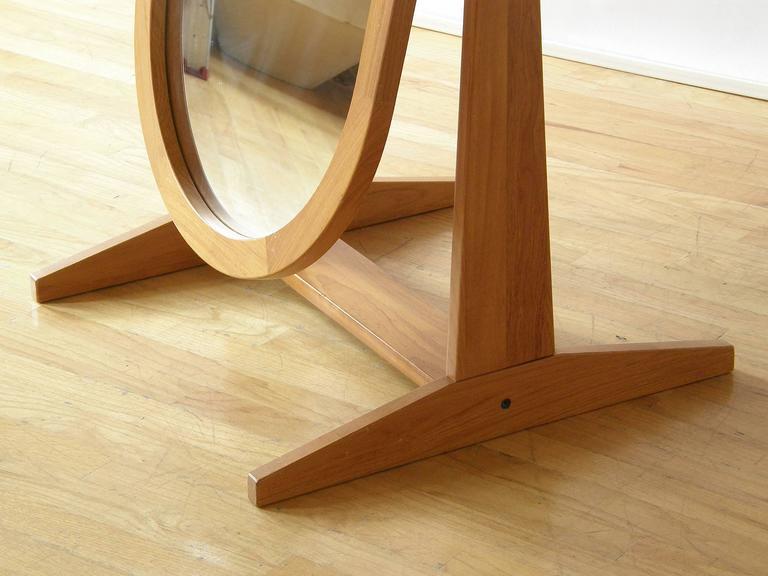 Pedersen & Hansen Teak Cheval Mirror 5