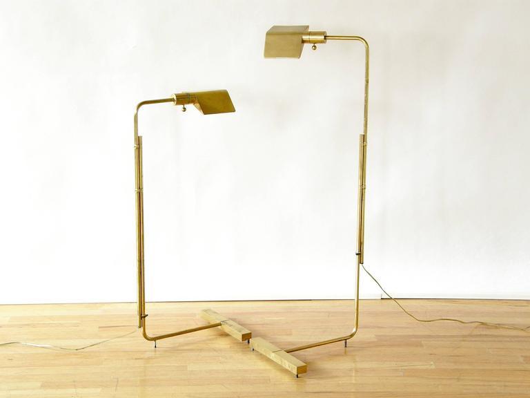 Pair of Adjustable Floor Lamps by Cedric Hartman 3
