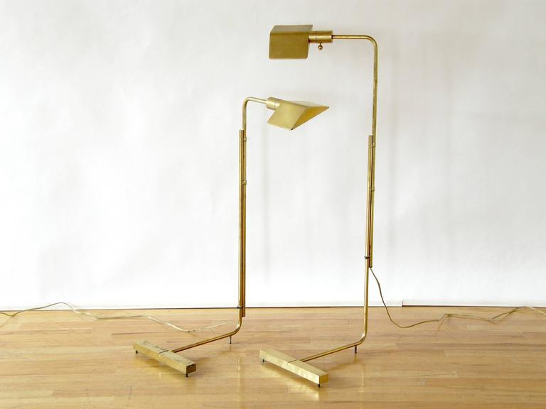 Pair of Adjustable Floor Lamps by Cedric Hartman 2