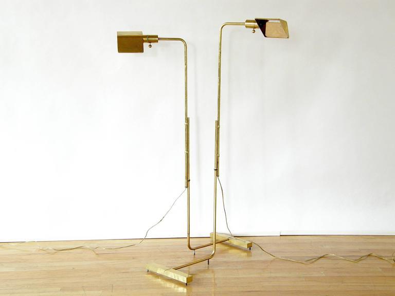 Pair of Adjustable Floor Lamps by Cedric Hartman 4