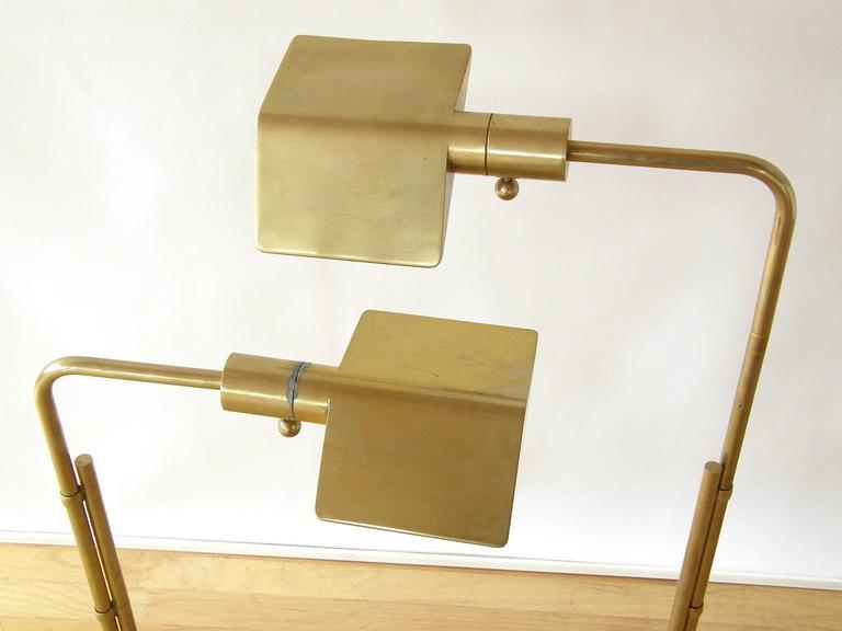 Pair of Adjustable Floor Lamps by Cedric Hartman 7