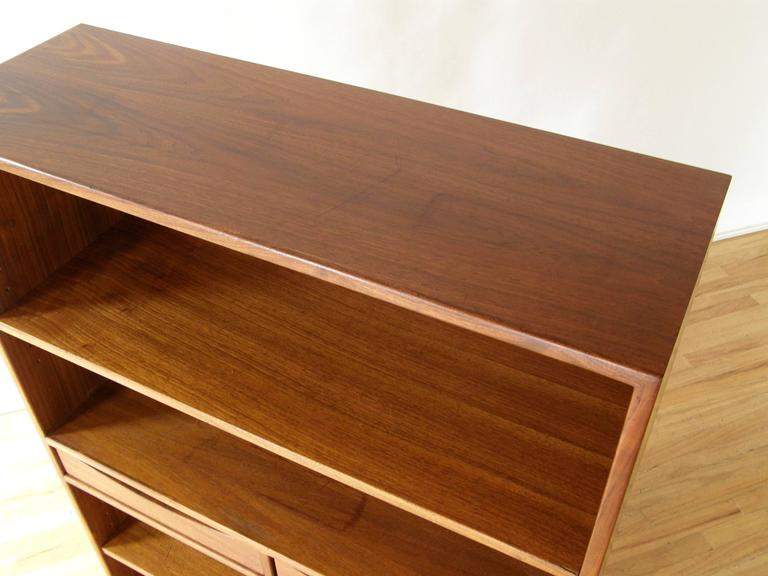 Mid-20th Century Jens Risom Bookcase with Drawers For Sale