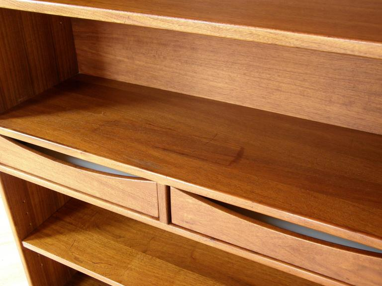 Jens Risom Bookcase with Drawers For Sale 1