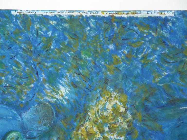 Marc Chagall Fabric 6