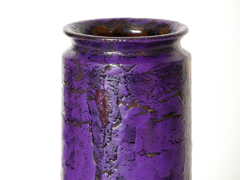 Mid-Century Modern Rosenthal Netter Italian Ceramic Vase For Sale