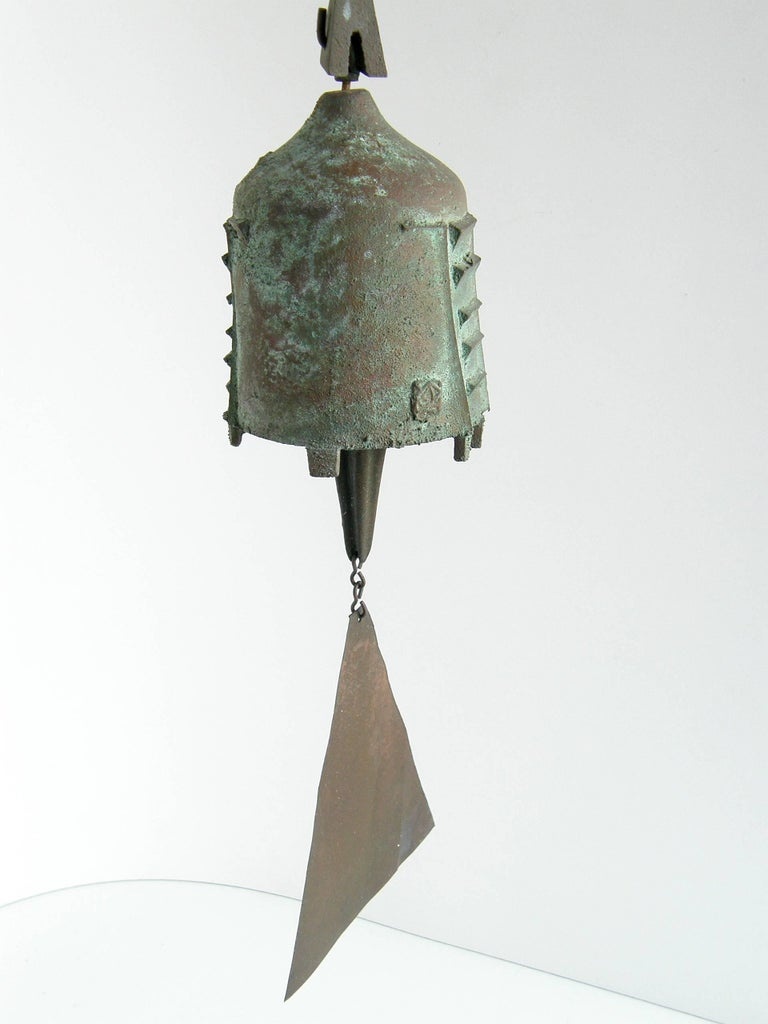 Paolo Soleri Bell In Good Condition For Sale In Chicago, IL