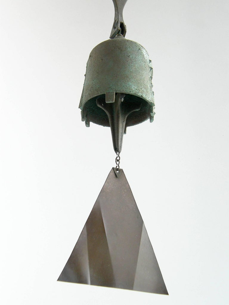 Bronze Paolo Soleri Bell For Sale