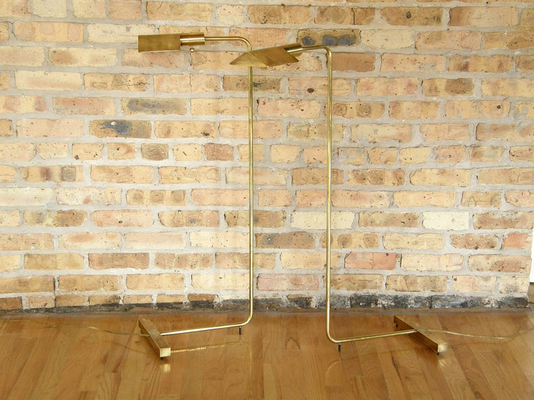 Pair of Cedric Hartman Floor Lamps 2