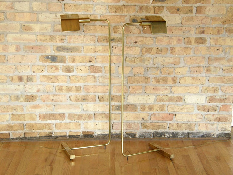 Pair of Cedric Hartman Floor Lamps 3