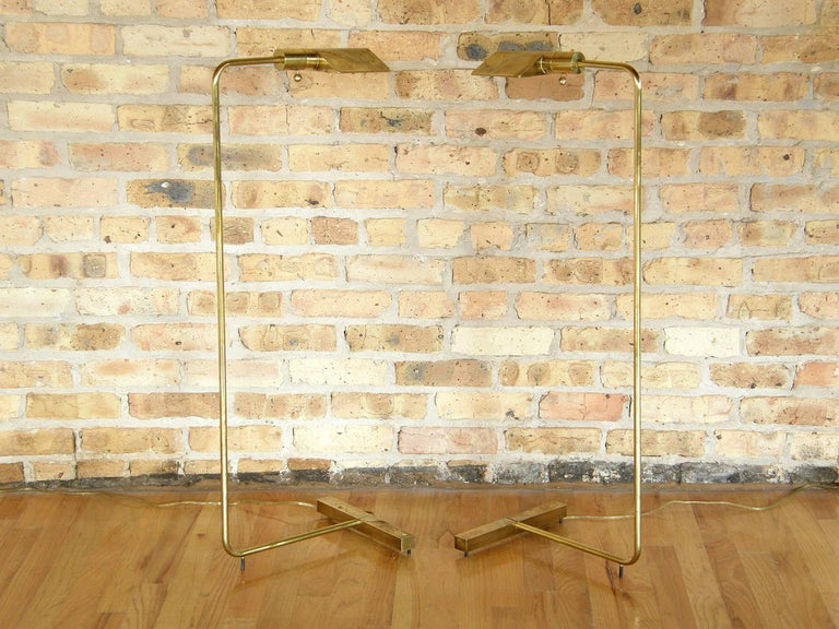 Pair of Cedric Hartman Floor Lamps 4
