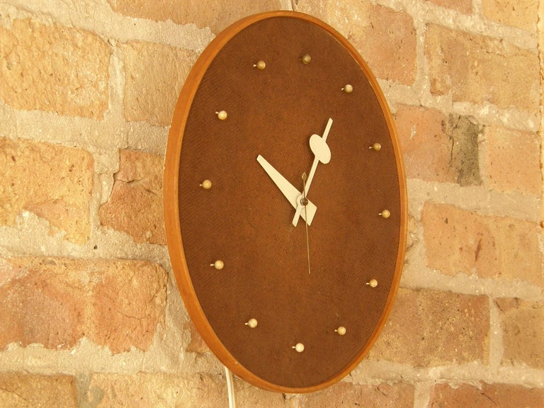 American Electric Wall Clock by George Nelson Associates for Howard Miller For Sale