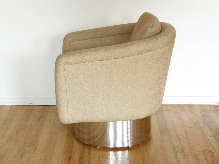 American Leon Rosen for Pace Swivel Lounge Chair For Sale