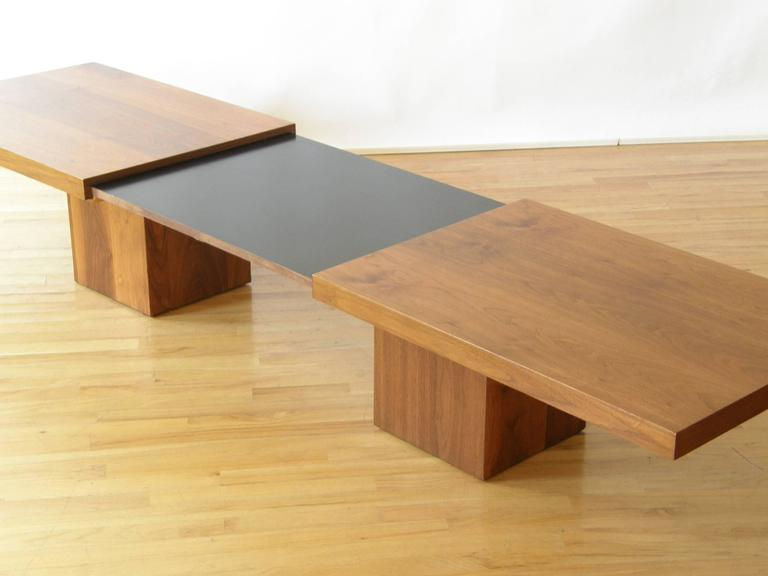 Expandable Coffee Table New John Keal Expandable Coffee Table For Sale At 1Stdibs Decorating Design