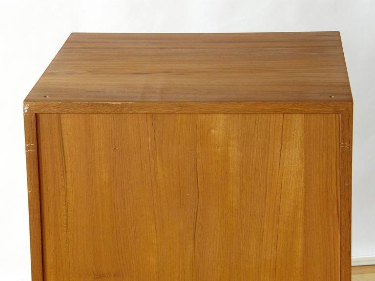 Finn Juhl Teak Cresco Cube Storage Cabinet for France and Sons 9