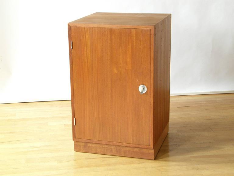 Finn Juhl Teak Cresco Cube Storage Cabinet for France and Sons 2