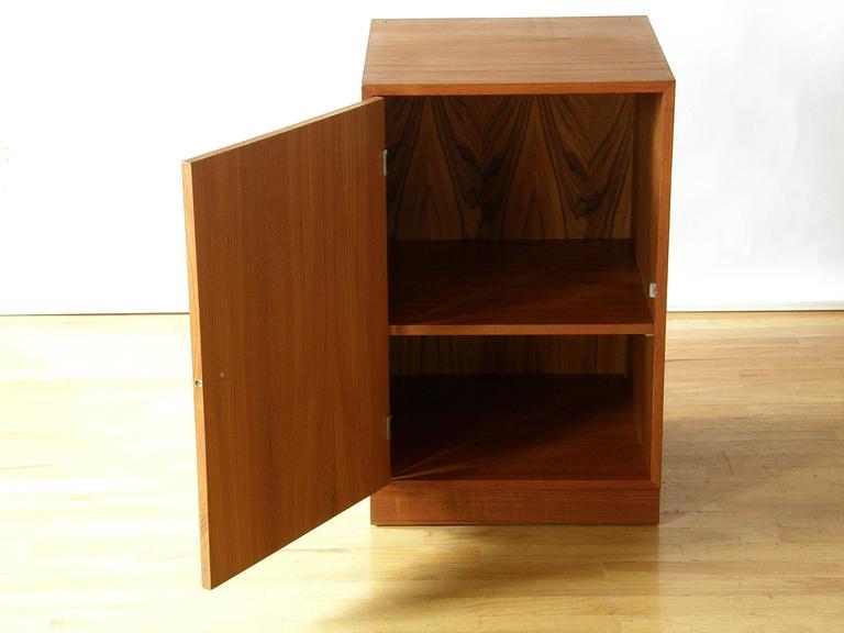 Finn Juhl Teak Cresco Cube Storage Cabinet for France and Sons 4
