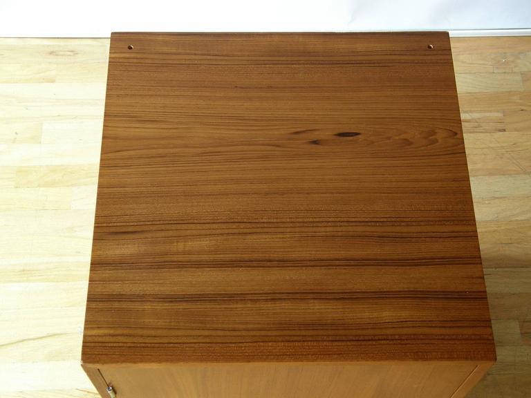 Finn Juhl Teak Cresco Cube Storage Cabinet for France and Sons 10