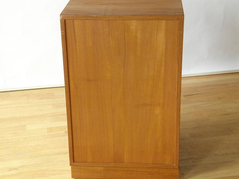 Finn Juhl Teak Cresco Cube Storage Cabinet for France and Sons 6