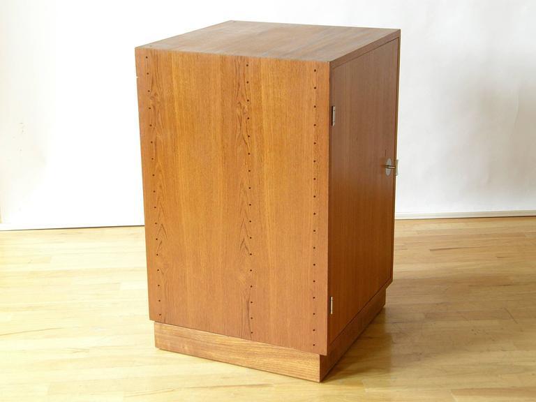 Finn Juhl Teak Cresco Cube Storage Cabinet for France and Sons 5
