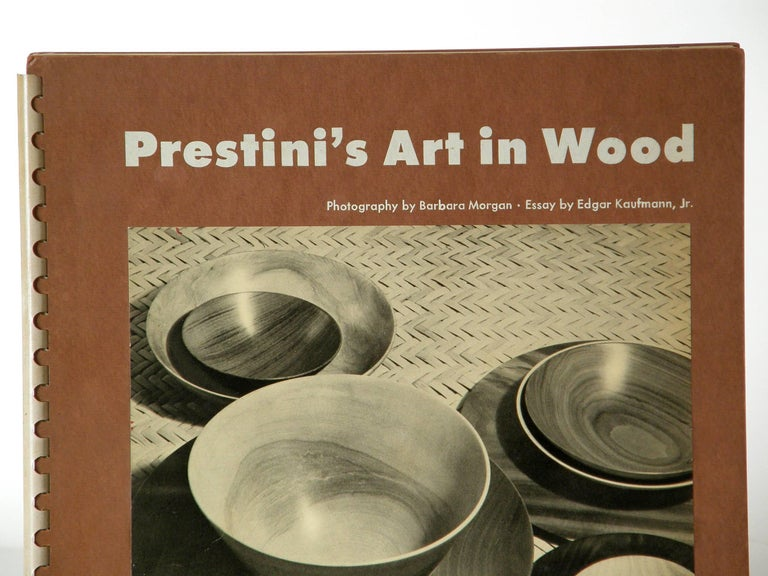 "Mid-Century Modern ""Prestini's Art in Wood"" Book by Edgar Kaufmann Jr For Sale"