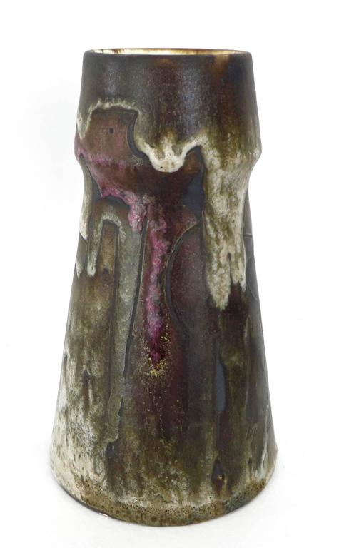 French Ceramic Vase by Marius Besson, Vallauris 2