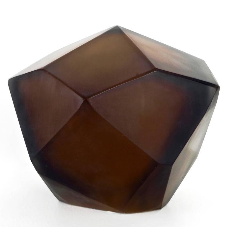 Italian Murano Blown Glass Sculpture by Massimo Micheluzzi, Murano, 2012 In Excellent Condition For Sale In Chicago, IL
