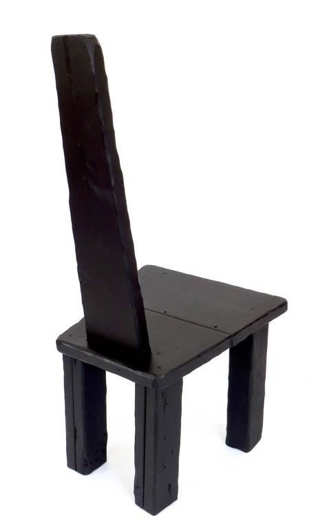 Contemporary Anthropological Collection Chair by Artist Hannah Vaughn, 2017 8