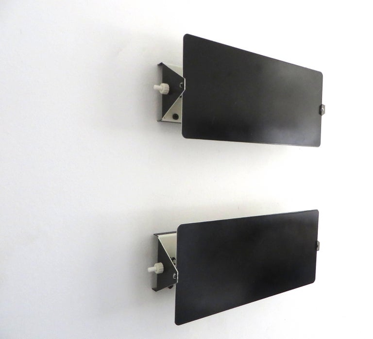 Mid-Century Modern Charlotte Perriand Double Socket Sconces CP-1 Steph Simon Edition, Paris, France For Sale