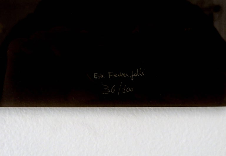 Bronze Wall Painting Sculptures by Esa Fedrigolli Italy 1985 Signed Numbered For Sale 2