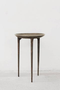 Rick Owens Bronze Three Legged Tall Brazier Occasional Table