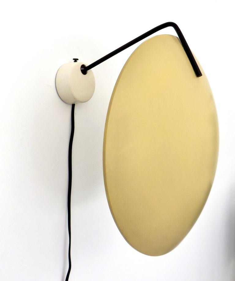 Stilnovo wall lamp model 232 by Bruno Gatta, Italy 1962 Very nice wall or ceiling lamp model 232, designed by Bruno Gatta for Stilnovo, Italy in 1962. These lamps are often sold as Sarfatti but we have these lamp documented as a design by B. Gatta