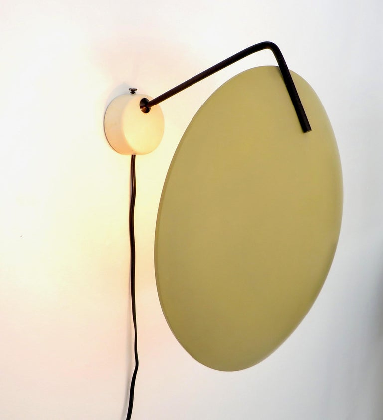 Mid-Century Modern Stilnovo Italian Light Sconce by Bruno Gatta Model 232 For Sale