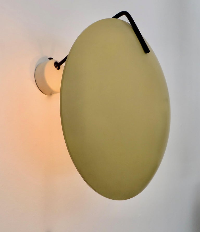 Stilnovo Italian Light Sconce by Bruno Gatta Model 232 In Excellent Condition For Sale In Chicago, IL