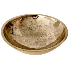 Contemporary Artist and Musician Elliot Bergman Bronze Bowl